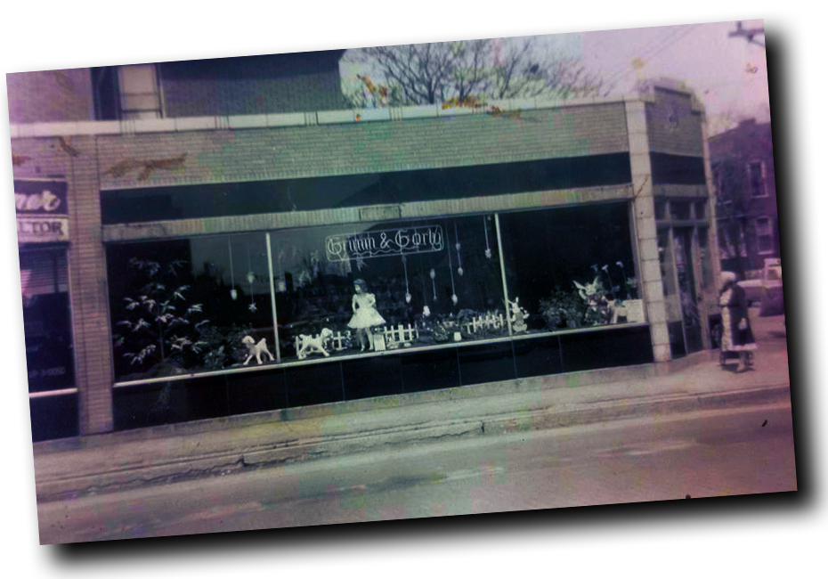The 1st Grimm & Gorly store in East St. Louis- 1955